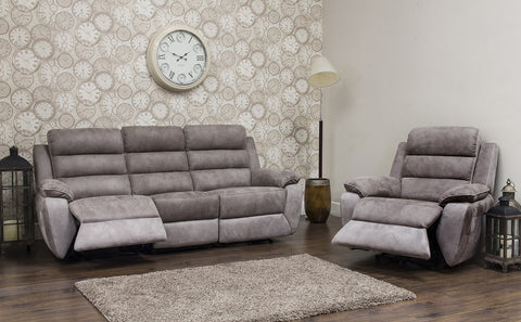 Urban 3 Seater & Chair Manual Reclining Sofa Set Sofa Sets- KC Sofas