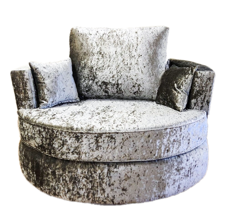 Angelica Glitz Swivel Chair Swivel Chairs- KC Sofas