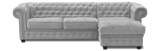 Imperial Right Hand Corner Sofa Bed Sofa Beds- KC Sofas