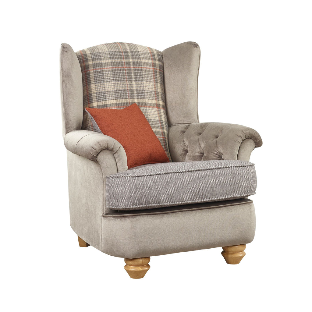 Ingles Wing Chair Wingback Chairs- KC Sofas