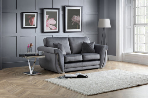 Luxe 2 Seater Formal Back Sofa