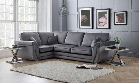 Luxe 1C3 LHF Formal Back Corner Sofa