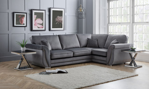 Luxe 3C1 RHF Formal Back Corner Sofa
