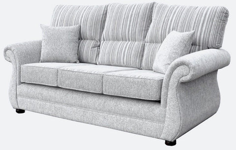 Washington 3 Seater Formal Back Sofa