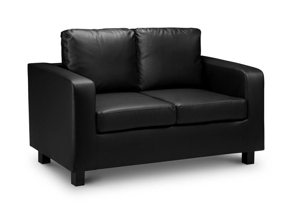 Matthew 2 Seater Faux Leather Sofa