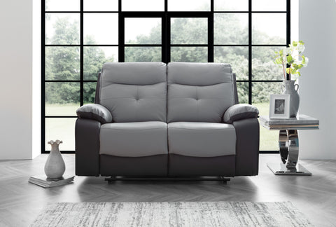 Mercury 2 Seater Manual Reclining Sofa
