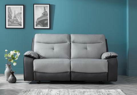 Mercury 3 Seater Manual Reclining Sofa