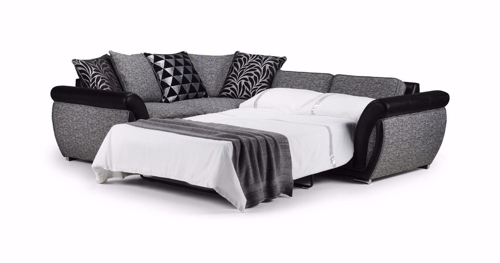 Shannon Left Hand Pillow Back Corner Sofa Bed