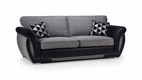Shannon 3 Seater Formal Back Sofa