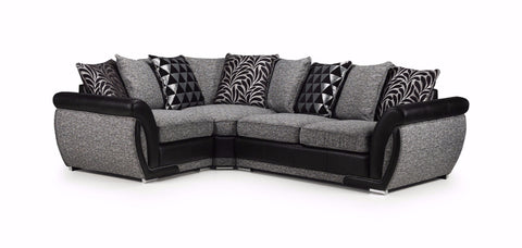 Shannon Left Hand Pillow Back Corner Sofa