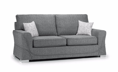 New York 3 Seater Formal Back Sofa