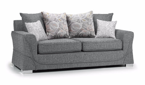 New York 3 Seater Pillow Back Sofa