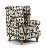 Oxford Wing Chair Chairs- KC Sofas