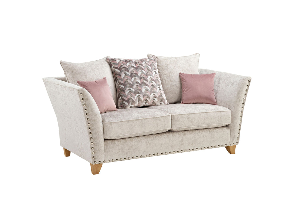 Paris 2 Seater Pillow Back Sofa 2 Seater Sofas- KC Sofas
