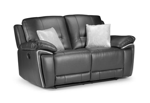 Harry Manual Leather Air 2 Seater Reclining Sofa