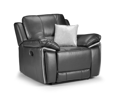 Harry Manual Leather Air Reclining Chair
