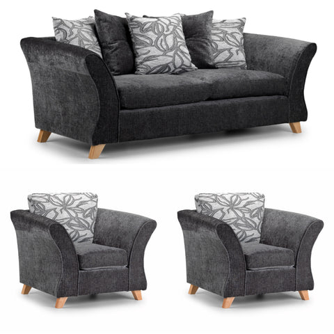 Elegance 3 Seater and 2 x Chair Set Sofa Sets- KC Sofas