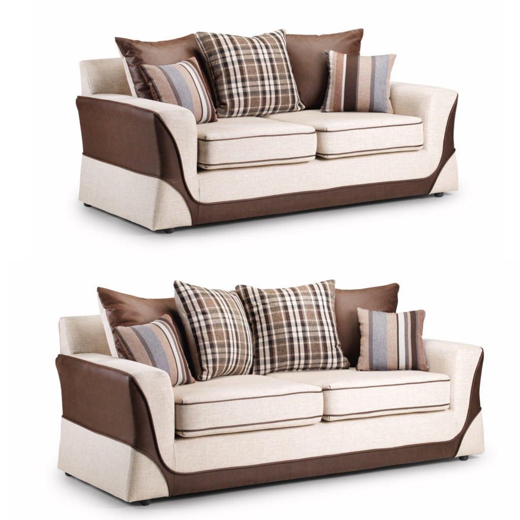 casablanca 3 seater 2 seater sofa set kc sofas. Black Bedroom Furniture Sets. Home Design Ideas