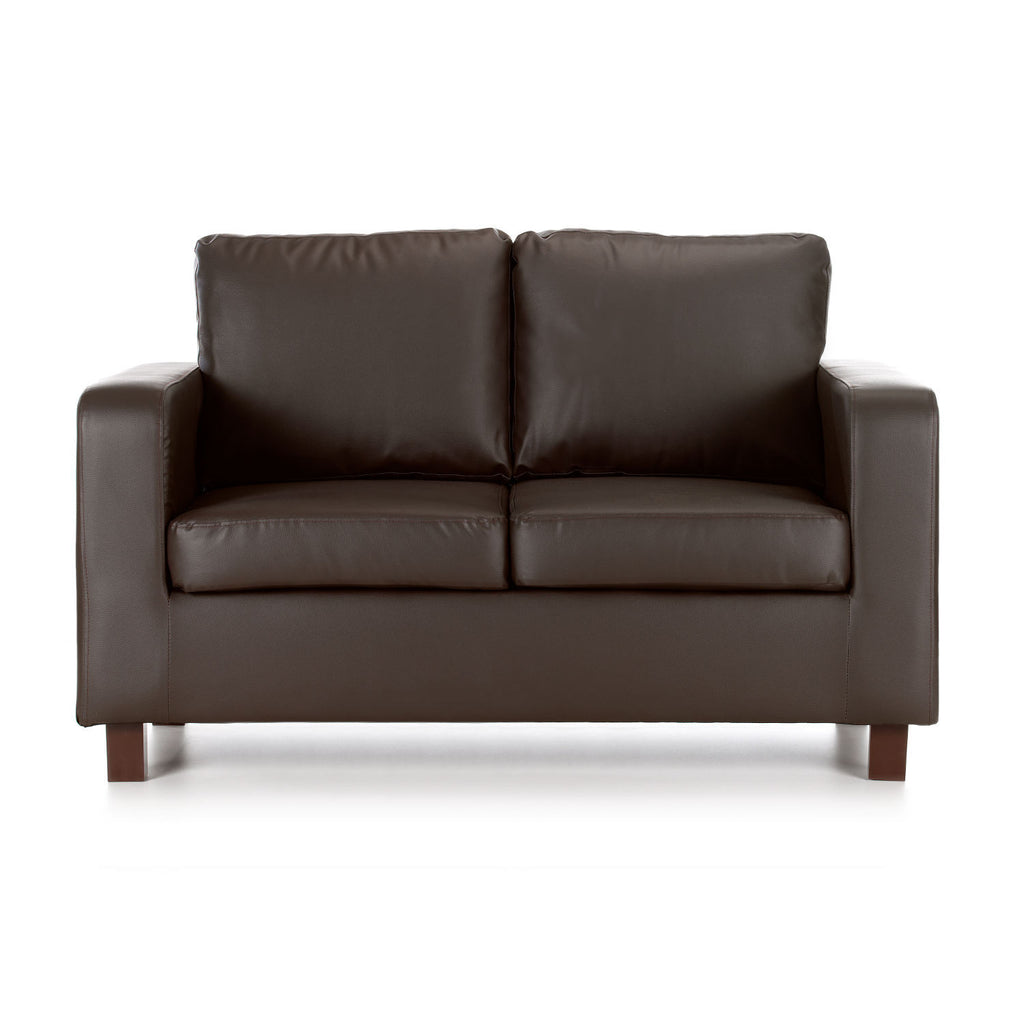 Maxwell 2 Seater Faux Leather Sofa