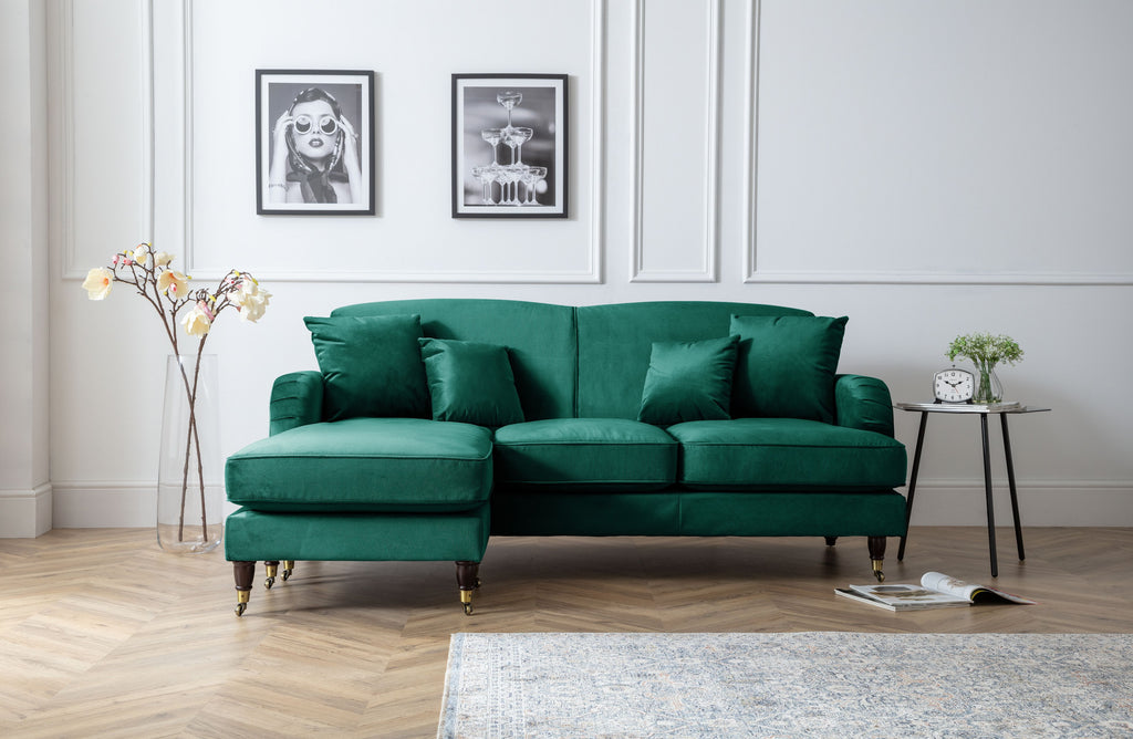 Piper 3 Seater Chaise Sofa