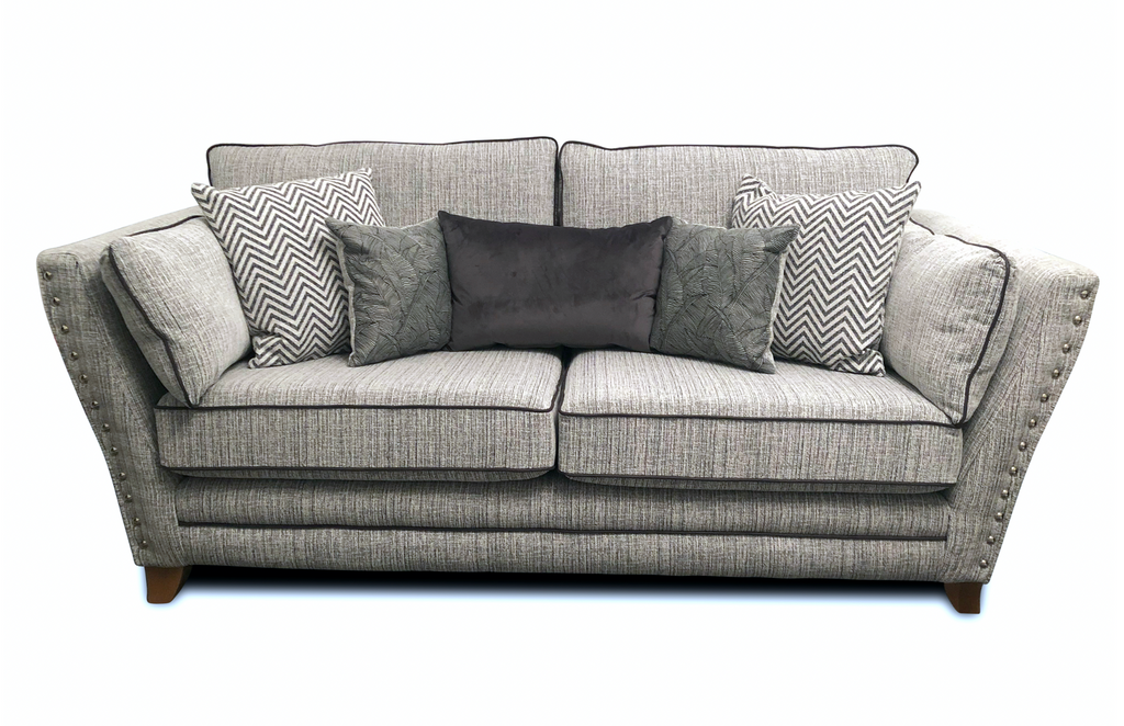 Athena 3 Seater Formal Back Sofa 3 Seater Sofas- KC Sofas