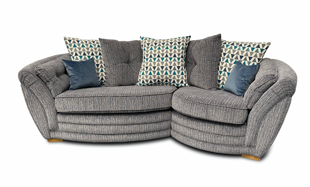 Isla Left Hand Cosy Cuddle Sofa Cuddle Sofas- KC Sofas