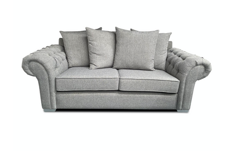 Chelsea 3 Seater Pillow Back Sofa 3 Seater Sofas- KC Sofas