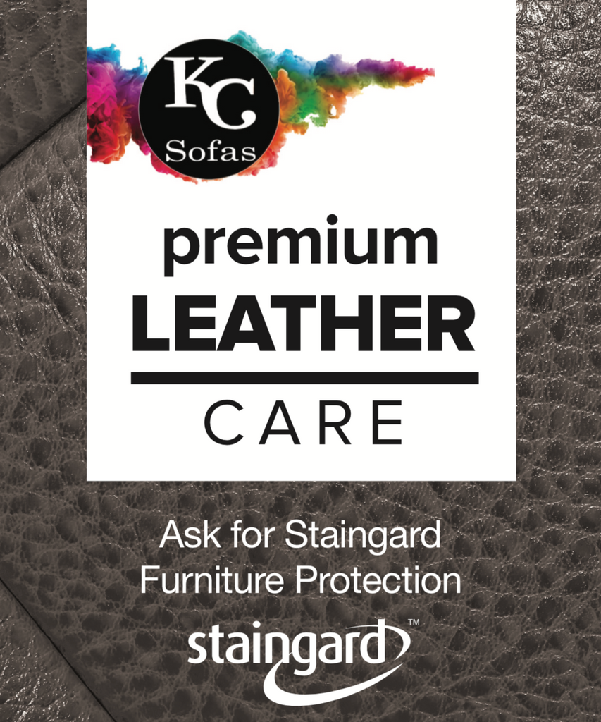Staingard 5 Year Protection Plan (Leather) Care Plan- KC Sofas
