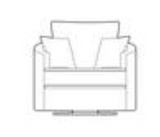 Isla Twister Chair Swivel Chairs- KC Sofas
