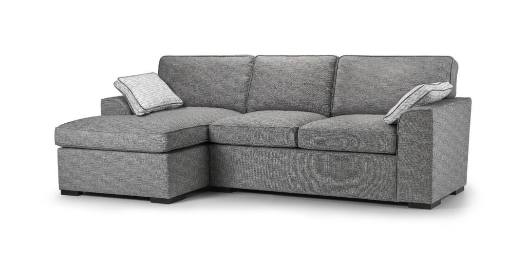 Seattle Left Hand Formal Back Chaise Sofa Chaise Sofas- KC Sofas