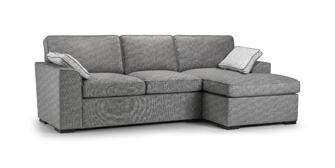 Seattle Right Hand Formal Back Chaise Sofa Chaise Sofas- KC Sofas