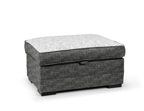 Seattle Storage Footstool Footstools- KC Sofas