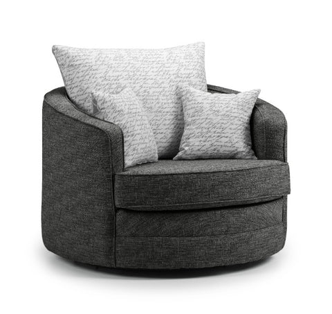 Seattle Swivel Chair Swivel Chairs- KC Sofas