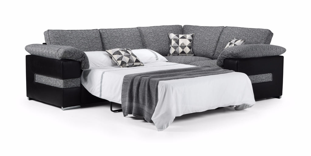 Serene Right Hand Formal Back Corner Sofa Bed Sofa Beds- KC Sofas