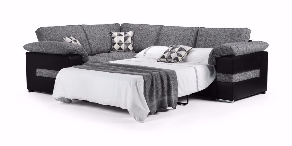 Serene Left Hand Formal Back Corner Sofa Bed