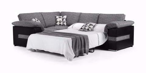 Serene Left Hand Formal Back Corner Sofa Bed Sofa Beds- KC Sofas