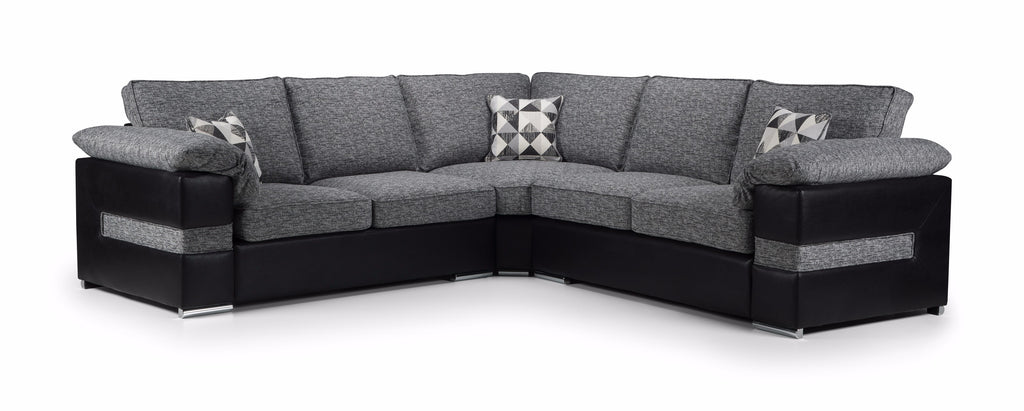 Serene Large Formal Back Corner Sofa Corner Sofas- KC Sofas