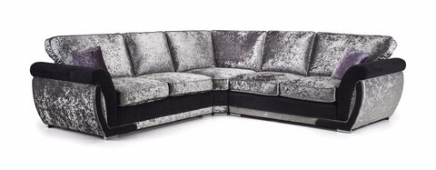 Shannon Glitz Large Formal Back Corner Sofa