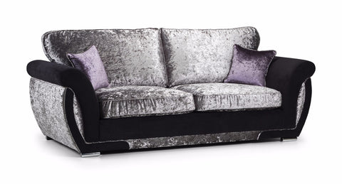 Shannon Glitz 3 Seater Formal Back Sofa