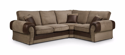 Tango Right Hand Formal Back Corner Sofa Corner Sofas- KC Sofas
