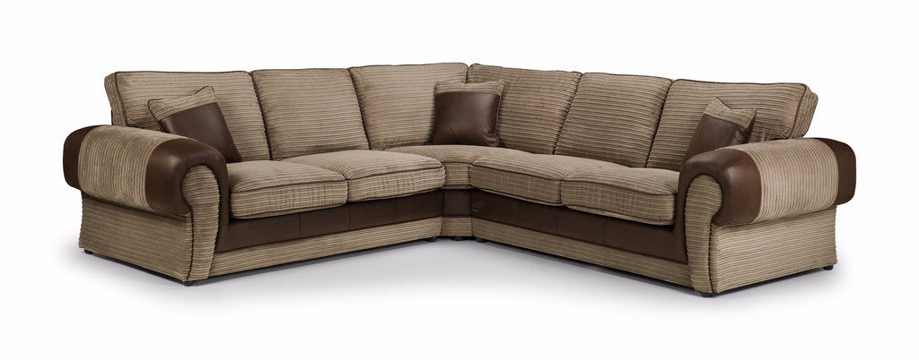 Tango Large Formal Back Corner Sofa Corner Sofas- KC Sofas