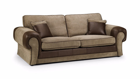 Tango 3 Seater Formal Back Sofa 3 Seater Sofas- KC Sofas