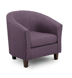 Fabric Tub Chair Chairs- KC Sofas