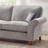 Vegas Large 2 Arm Left Hand Formal Back Corner Sofa Corner Sofas- KC Sofas