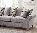 Vegas Small 2 Arm Left Hand Pillow Back Corner Sofa Corner Sofas- KC Sofas
