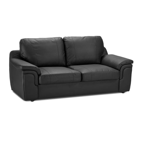 Anne 2 Seater Faux Leather Sofa 2 Seater Sofas- KC Sofas