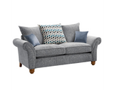 Vegas 2 Seater Pillow Back Sofa 2 Seater Sofas- KC Sofas