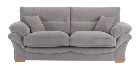 Chloe 3 Seater Formal Back Sofa