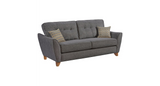 Ashleigh 3 Seater Formal Back Sofa 3 Seater Sofas- KC Sofas