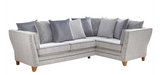 Athena Right Hand Pillow Back Corner Sofa Corner Sofas- KC Sofas